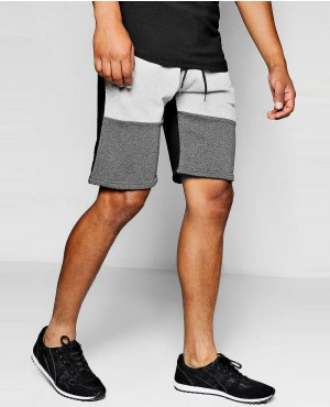 Men Hot Selling Colour Block Jersey Short