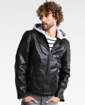 Men Hot selling Custom Leather Jacket