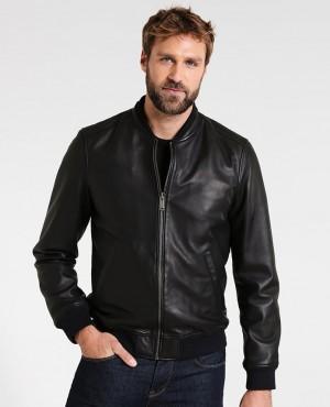 Men Hot selling Leather Jacket