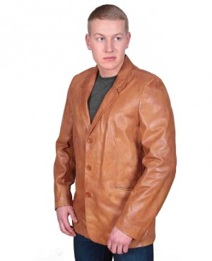 Men Leather Biker Blazers Hot Sale Styles
