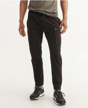 Men New Look Nylon Cargo Joggers