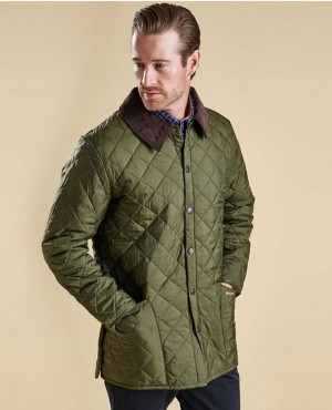 Men Padded Puffer Quilted Jacket