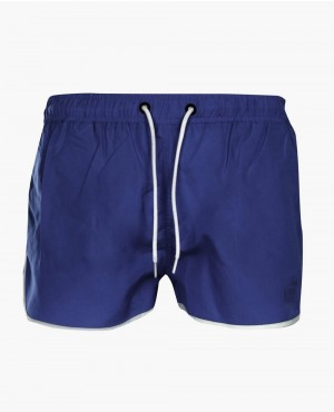 Men Plain Runner Swim Short
