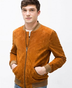 Men Real Genuine Leather Jacket from Pakistan Supplier