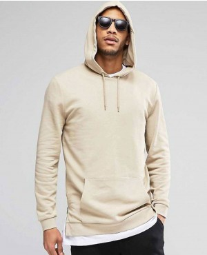 Men Simple Street Style Hoody