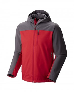 Men Softshell Jacket with Hood