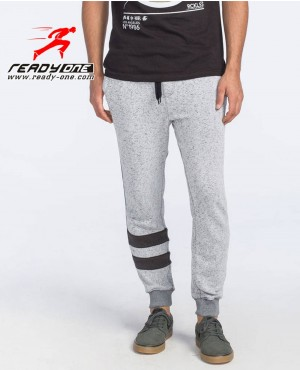 Men Sweatpant with Stripes below Knee