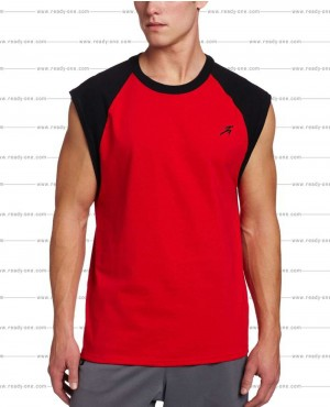 Men Two Tone Gym Tank Top