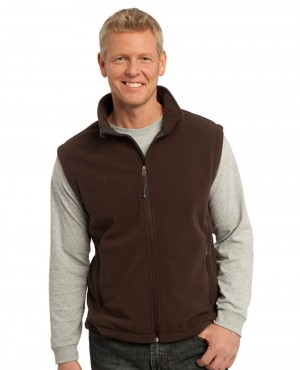 Men Value Polar Fleece Vest