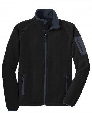 Mens Enhanced Fleece Full Zip Jacket