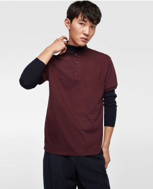 Most Popular Polo Shirt With Stand Up Collar