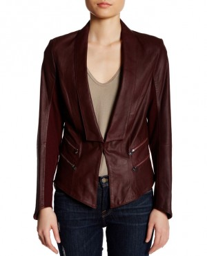 Most Selling Custom Genuine Leather Blazer