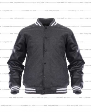Most Selling Letterman Jacket with Leather Sleeves