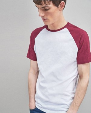 Multi Colour Raglan T Shirts