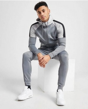 Muscle Fit Gym Full Tracksuit