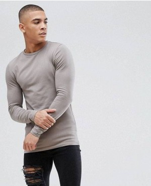 Muscles Gym Fit Long Sleeves T Shirt With Low MOQ