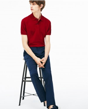 New Arrival Custom Brands Red Color Polo Shirt