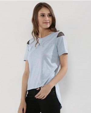 New Best Selling Shirttail Hem T Shirt