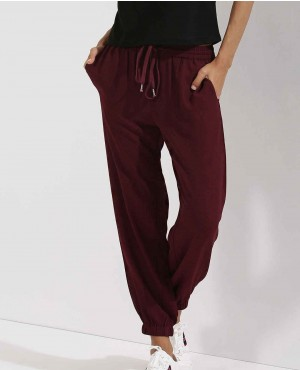 New Burgundy Style Jogger