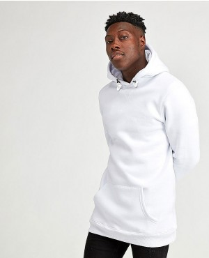 New Custom Overhead Hooded Top White Color