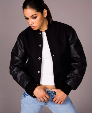 New Custom Women Varsity Jackets