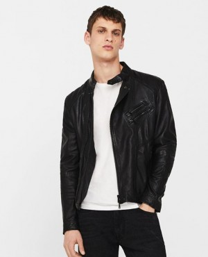 New Fashionable Leather Jacket Black