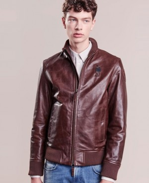 New Look High Quality Leather Jacket Cafe