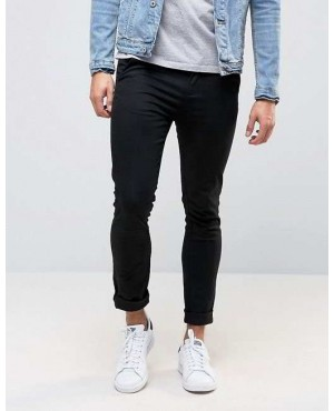 New Look Skinny Chinos In Black