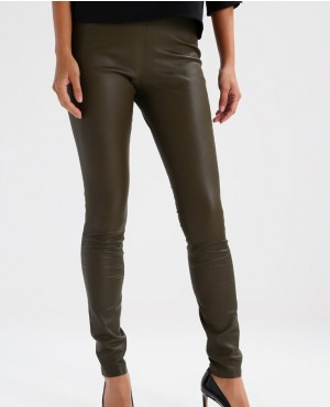 New Skinny Fit Leather Trousers