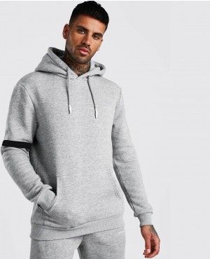 New Style Hooded Men Tracksuit With Tape Detail