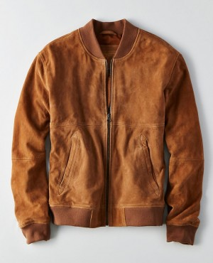 New Stylish Men Suede Leather Jackets