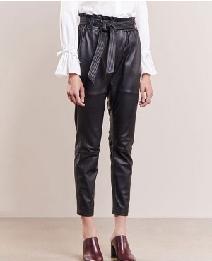New Stylish Women Leather Pant