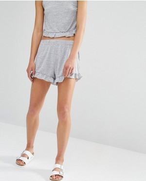 One Day Petite Frill Hem Short