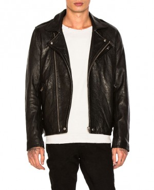 Pakistan Manufacturer Vintage Eco Leather Jacket For Men Low Price