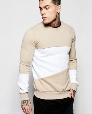Panel Multi Color Decent Sweatshirt