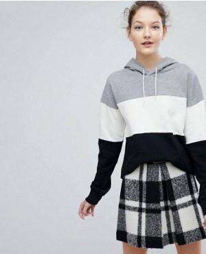 Paneled Pullover Custom Branded Hoodie
