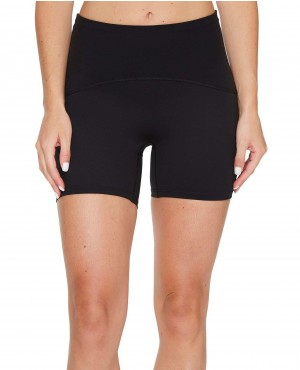 Perfect Styles Drying Quick Four Way Stretch Training Wear Booty Shorts Women