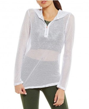 Play Active Cotton Hand Mesh Hoodie
