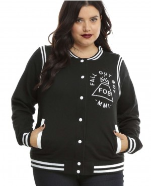 Plus Size Girls Varsity Jackets