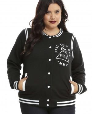 Plus Size Girls Varsity Jackets