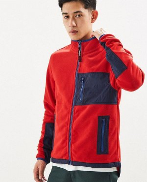 Polar Fleece Zip Jacket Stylish
