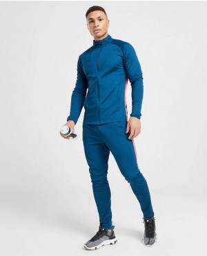 Polyester Tracksuit In Muscle Gym Fitting