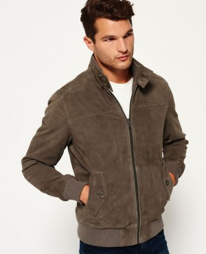 Premium Suede Custom Collar Style Jacket