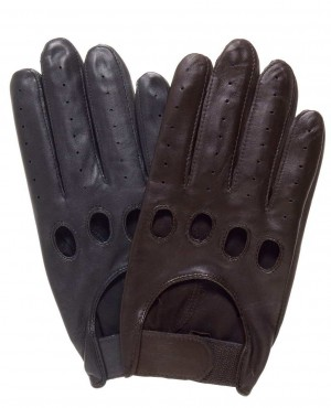 PU Leather Driving Gloves For Boys