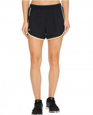 Quick Dry Fit Black Shorts for Women