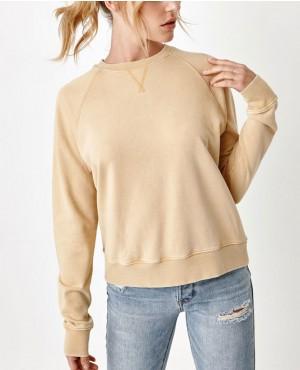 Raglan Sleeve Vintage Crew Neck Sweatshirt