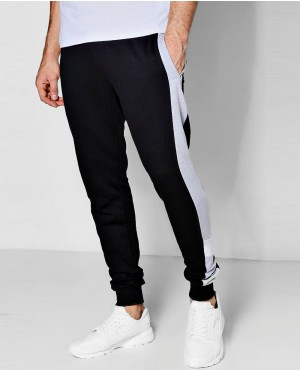 Retro Colour Block Jogger In Skinny Fit