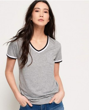 Retro V Neck T-Shirt