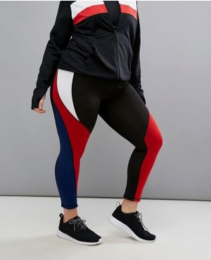 Reversible Colourblock Legging