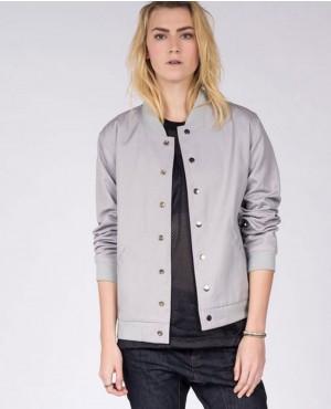 Reversible Women Stylish Custom Varsity Leather